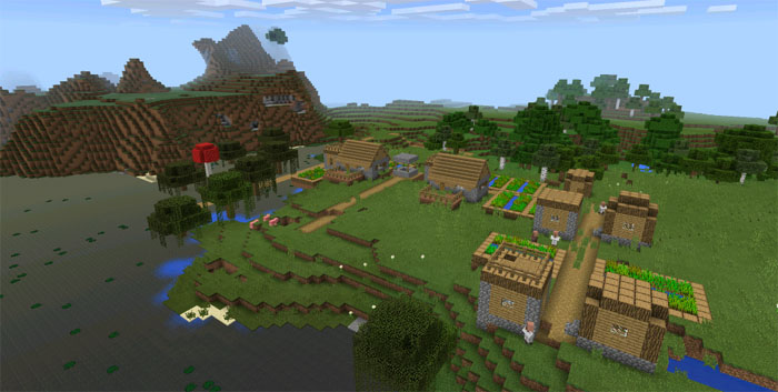 witch-hut-village-at-spawn-seed-for-mcpe.jpg