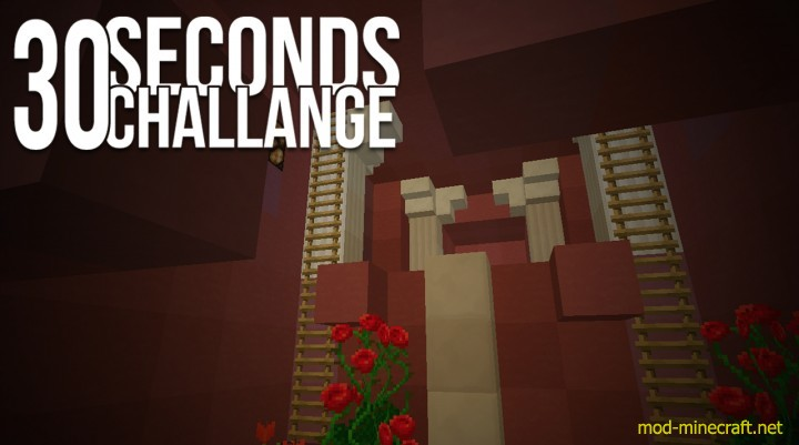 30 Seconds Challenge Map 1.8.8/1.8