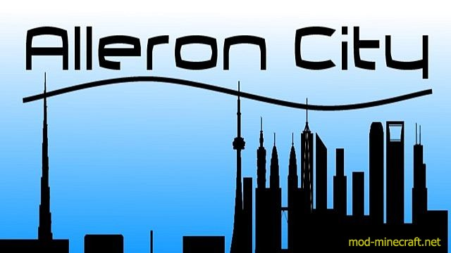 Alleron city map [1.8] Alleron City Map Download