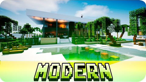 Beautiful Modern House Map
