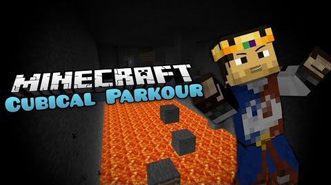 Cubical Parkour Map 1.8.4/1.8