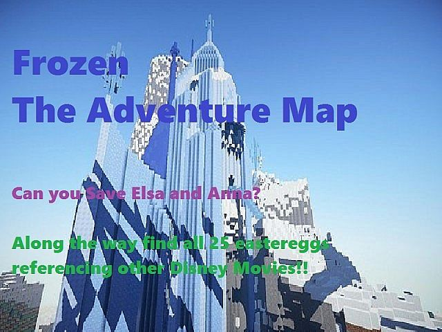 Disney Frozen Adventure Map 1.8.3/1.8