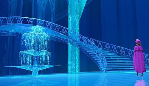 Elsa S Ice Palace Map Mod Minecraft Net