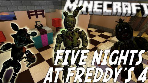 Five Nights at Freddy's 4 Map 1.8.7/1.8