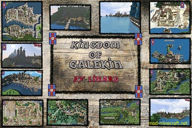 Kingdom of Galekin Map 1.8.3/1.8