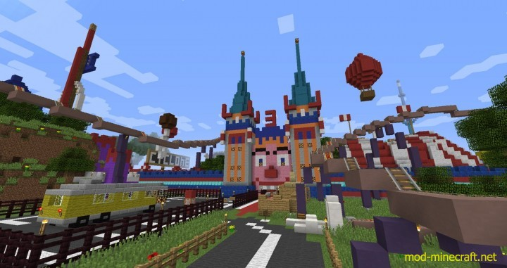 Lunapark Adventure Map 1.8.3/1.8