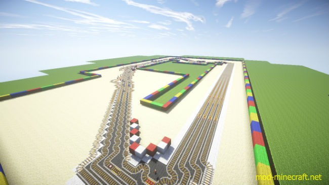Mario Kart Map 1 7 10 By Keyk123 Mod Minecraft Net