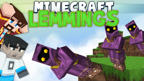 Minions (Lemmings) Minigame Map 1.8.4