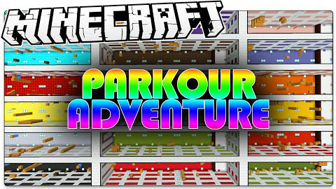 Parkour Adventure Map 1.8.8/1.8