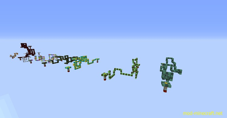 Snake Parkour Map 2 [1.10] Snake Parkour Map Download