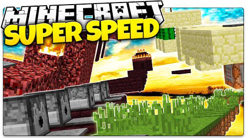 Super Speed Run Parkour Map 1.8.8/1.8