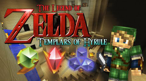 The Legend of Zelda: Templars of Hyrule Map 1.8.7/1.8