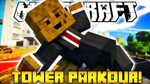 Tower Parkour Map 1.8.7/1.8