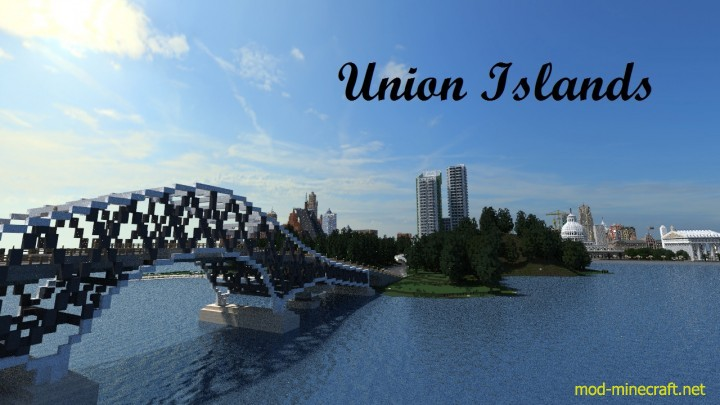 Union Islands Map 1.8.7/1.8/1.7.10