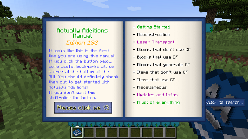 Actually Additions Mod 12