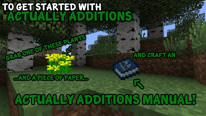 Actually Additions Mod 2