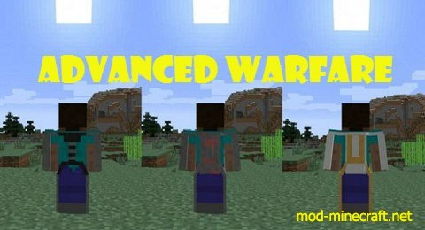 Advanced Warfare Mod 1.7.10