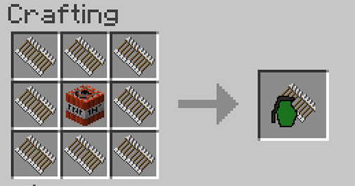 Advanced Weaponry mod for minecraft recipes 02