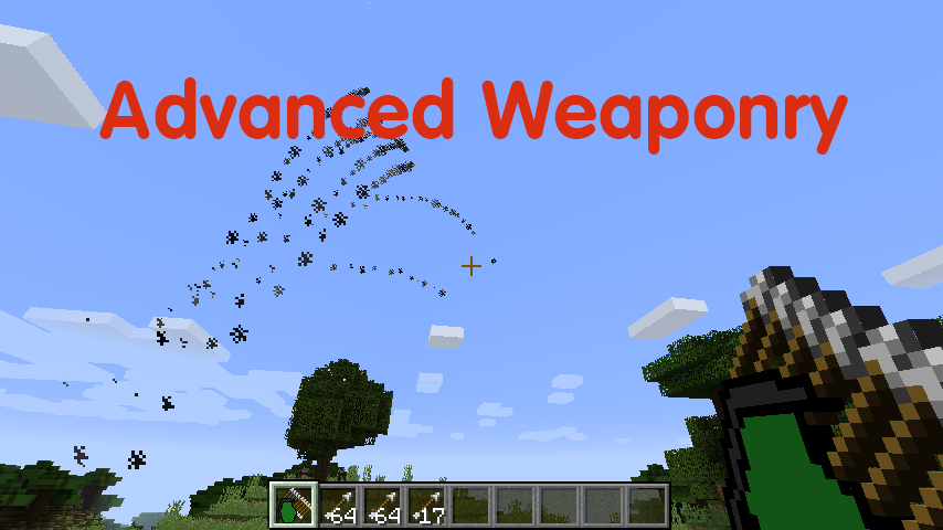 Advanced Weaponry mod for minecraft