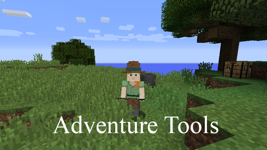 Adventure Tools mod for minecraft