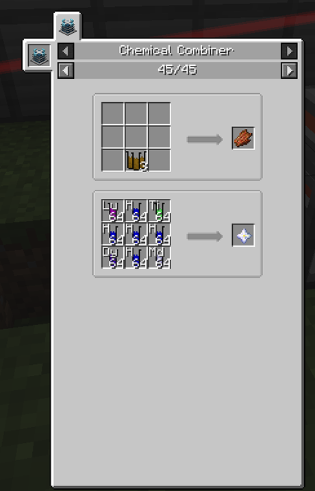 Alchemistry mod for minecraft recipes 02