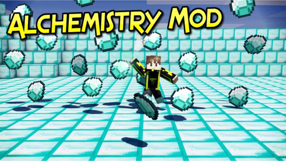 Alchemistry mod for minecraft