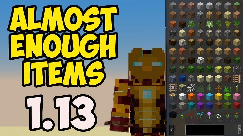 Almost Enough Items Mod