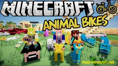 Bikes Mod 1.7.2 Animal bikes is a minecraft