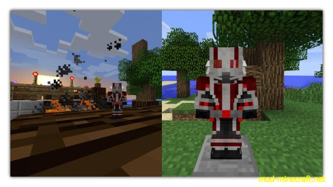 Download Ant man in minecraft mod