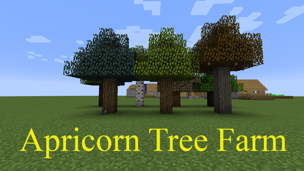 Apricorn Tree Farm mod for minecraft
