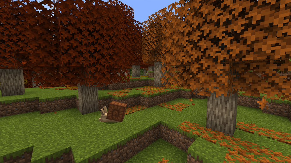 Autumnity mod for minecraft screenshots 01