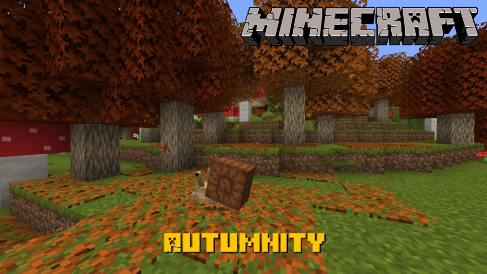 Autumnity mod for minecraft
