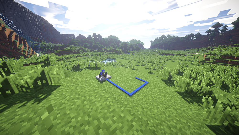 Blue Power mod for minecraft screenshots 01