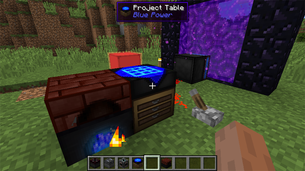 Blue Power mod for minecraft screenshots 04