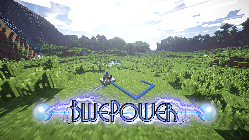 Blue Power mod for minecraft