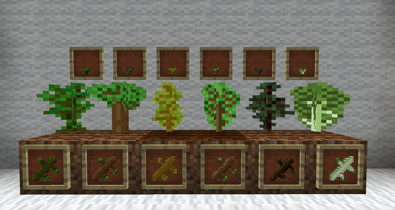 Bonsai Tree Crops Mod Screenshots 1