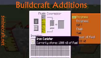 Buildcraft Additions Mod 1 7 10/1 7 2 | Mods for Minecraft