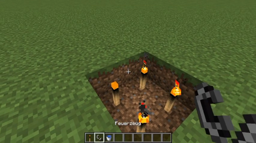 Burning Torches mod for minecraft screenshots 04
