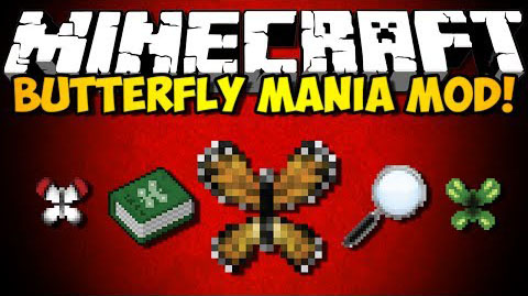 Butterfly Mania Mod [1.8.9] Butterfly Mania Mod Download