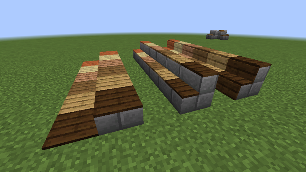 Carpet Stairs mod for minecraft screenshots 01