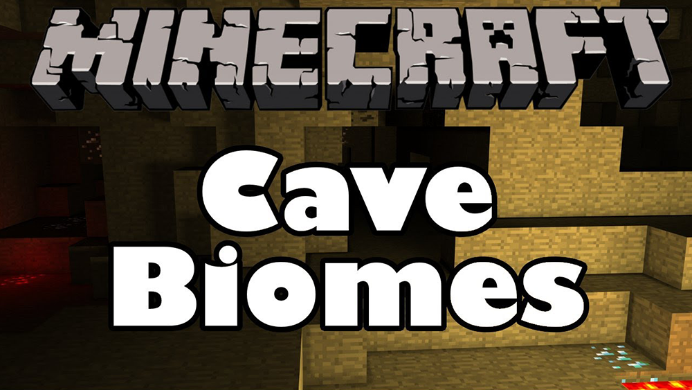 Cave Biomes mod for minecraft