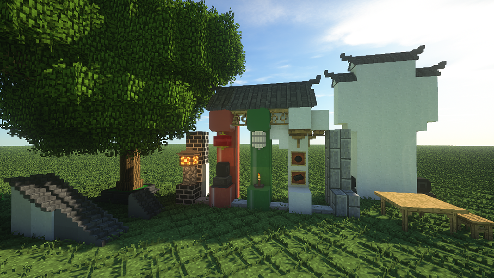 Chinese Workshop mod for minecraft screenshots 08