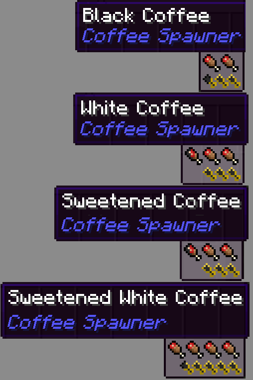 Coffee Spawner mod for minecraft screenshots 02