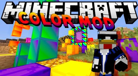 Color Mod [1.7.10] Color (Rainbow) Mod Download