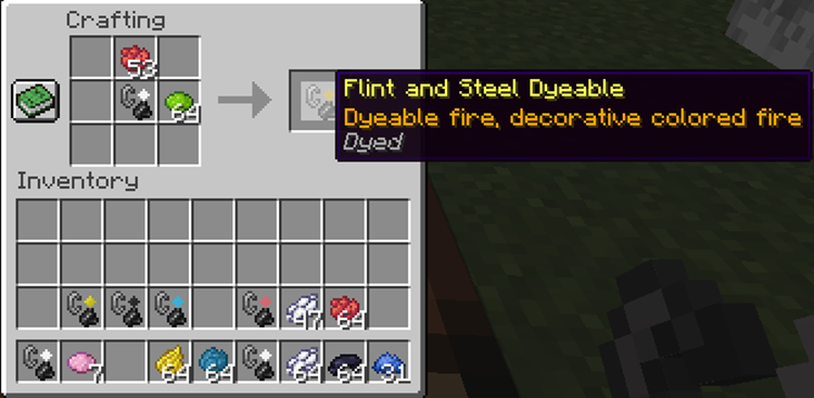Colored Flames mod for minecraft screenshots 05