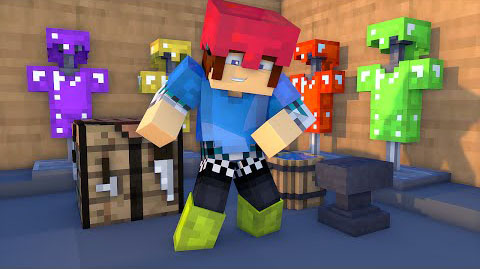 how to make colored leather armor in minecraft
