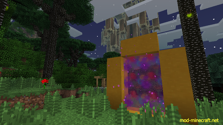 Colourful Portals Mod 1 7 10/1 7 2 | Mods for Minecraft