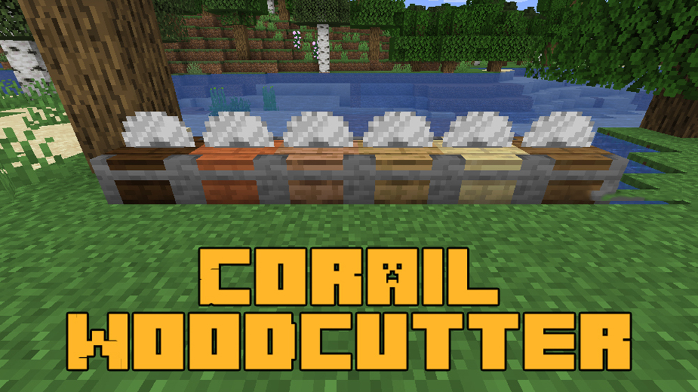 Corail Woodcutter mod for minecraft