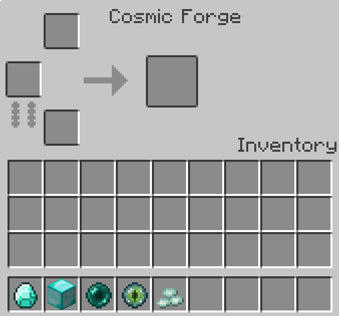 Cosmic Armory Mod Crafting Recipes 4