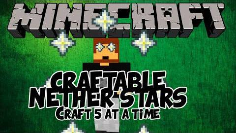 Craftable Nether Star - крафти звезду ада [1.8.9-1.5.2]